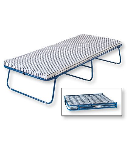 "Swedish Folding Cot: Aero Beds and Camp Cots | Free Shipping at L.L.Bean $109 Open: 15""H x 76""L x 31½""W, Folded: 37""L x 31½""W x 4½""D. Weight  23 lb. Capacity  250 lb."