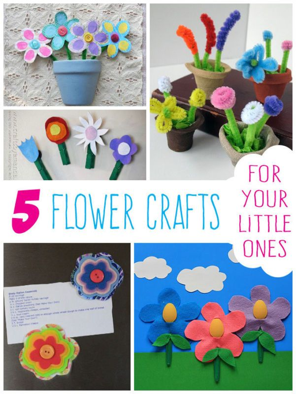 craft project ideas for kids 5 flower crafts for 6363