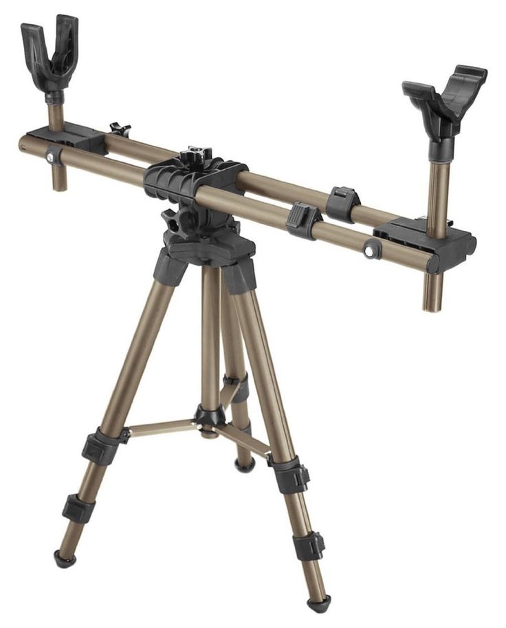 Adjustable Shooting Tripod Field Pod Portable Lightweight Rifle Hunting Stand  #Caldwell