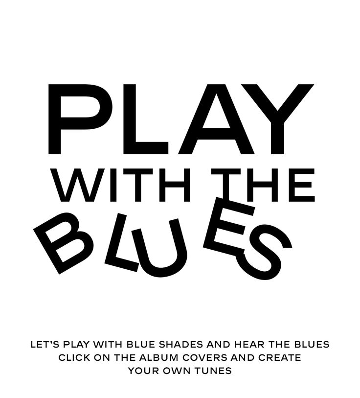 LET'S PLAY WITH THE BLUES