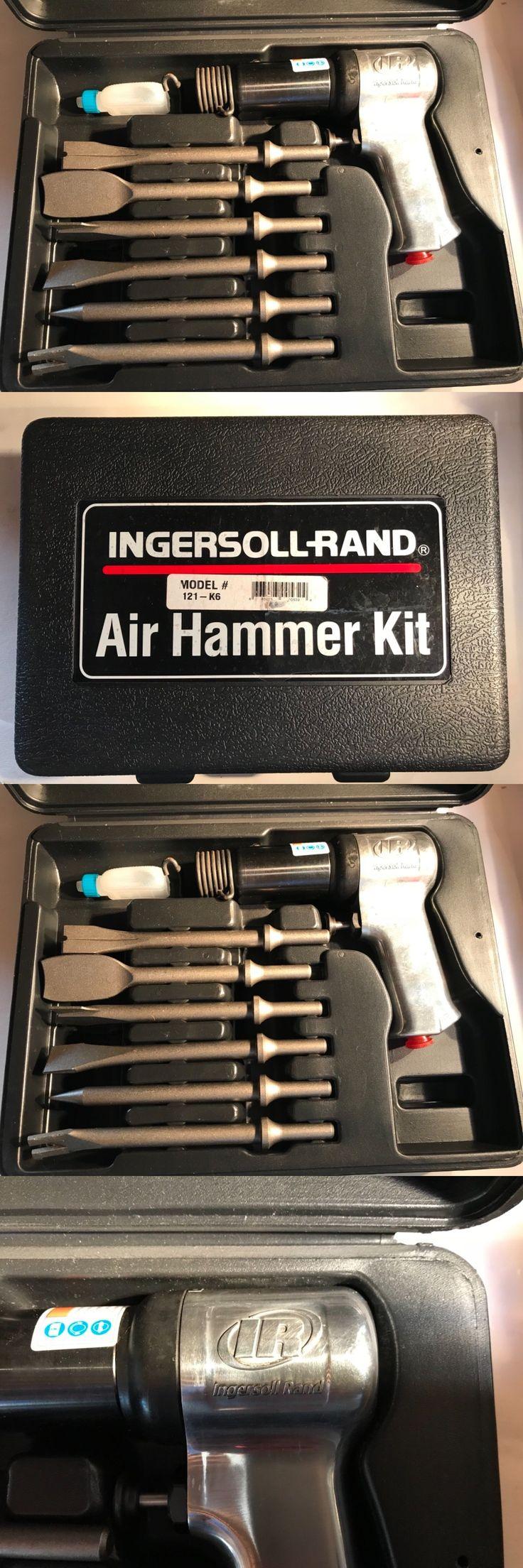 Hammers 42246 Ingersoll Rand SuperDuty Air Hammer W 6 Pc