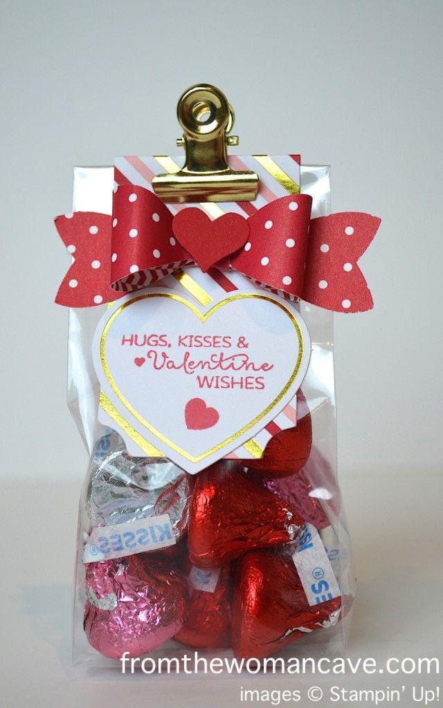 january 2015 paper pumpkin stampin up valentines goodie bagsvalentine