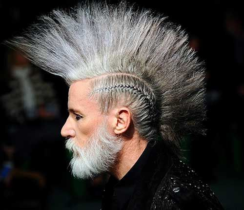 20 Best Punk Haircuts for Guys ~ Long hairstyles