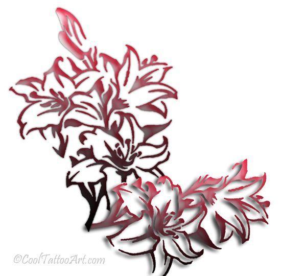 Lily Tattoo Designs | lily tattoo designs lily tattoo meaning lily tattoo lily tattoos
