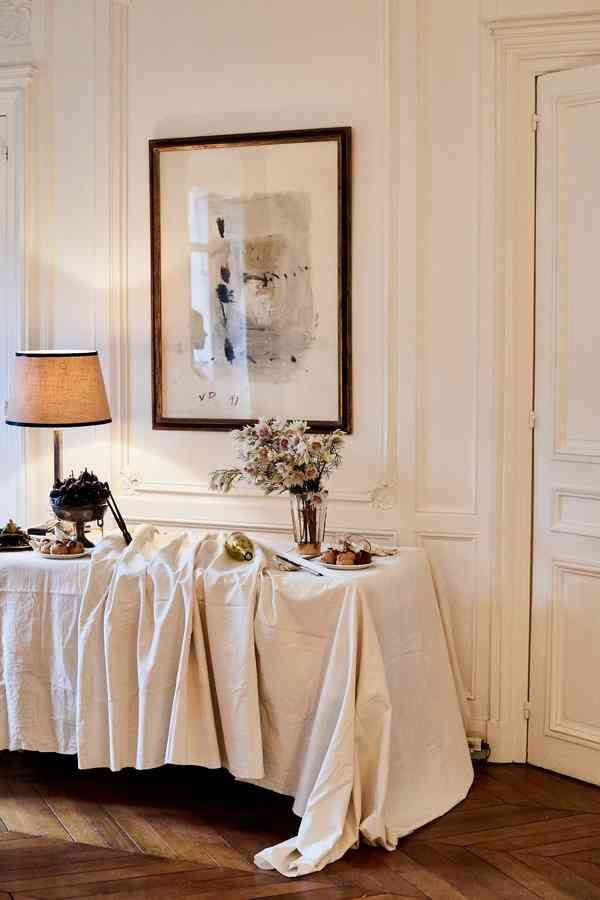 Interior design by Clarisse Demory for MNZ and Sophie Buhai dinner during PFW.