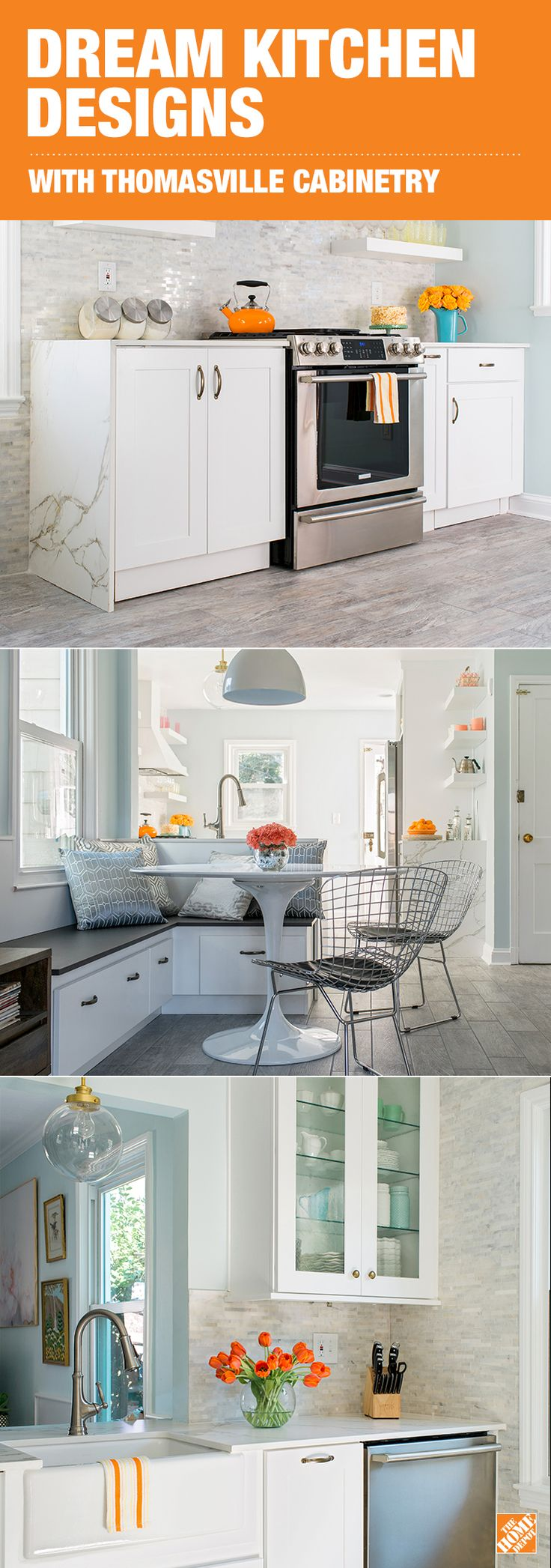Kitchen make your kitchen dazzle with pertaining to kitchen design - Add More Style And Storage To Your Kitchen With Thomasville Cabinetry Designed With Beauty And