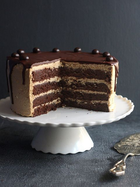 Chocolate Coffee Layer Cake by Completely Delicious