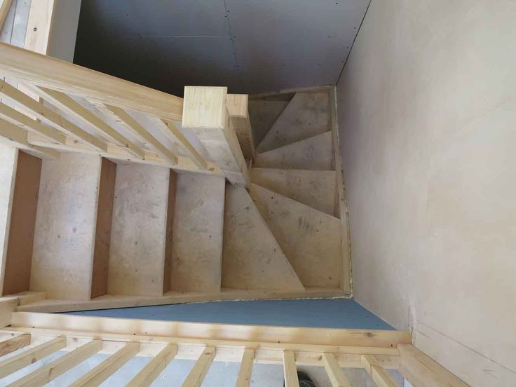 Double winder 3x kite box staircase staircases will have for Building winder stairs