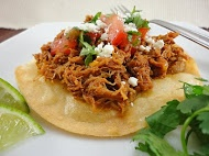 Spicy Mexican Shredded Pork Tostadas ~ In top 5 recipes on food ...