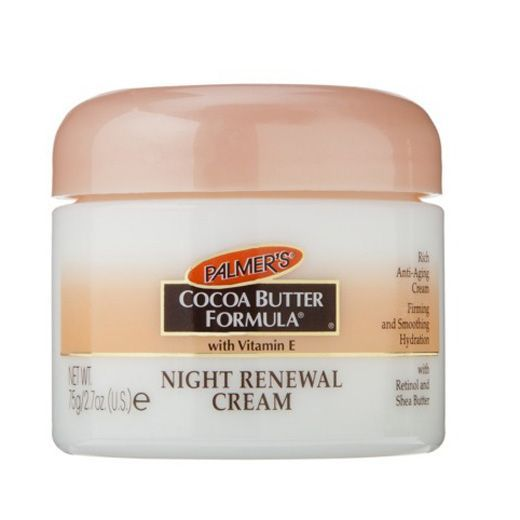 The go to Best Facial Moisturizer, Palmer's Cocoa Butter Formula Night Renewal Cream