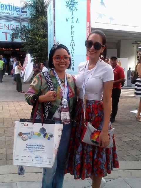 Con Jeani de Estilozas Peru