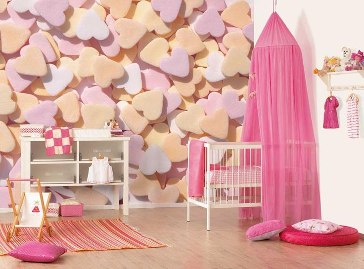 Find This Pin And More On Bebek Odas Dekorasyonu Baby Room Cute Baby Girl Nursery Design