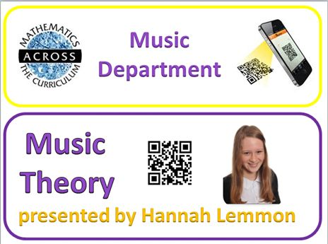 Our MUSIC Maths Champion explains MUSIC THEORY involving Maths.  TAR