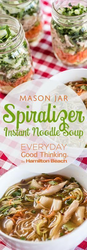 Spiralizer Instant Noodle Soup