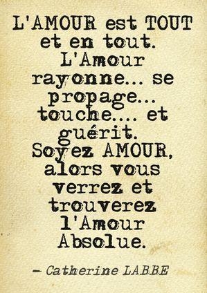 www.flammes-jumelles.com #Citation #amour #flammesjumelles #twinflames #love #reiki #catherinelabbe