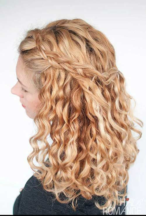 20 Pics of Curly Hair Styles for Ladies