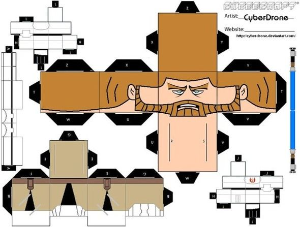 star wars cubeecraft 1   15 Star Wars Cubeecraft Paper Toy Models You Will Also Want To Make!