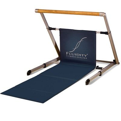 The Foldaway Barre Studio - A home barre studio design to improve flexibility, balance, and develop long, lean muscles