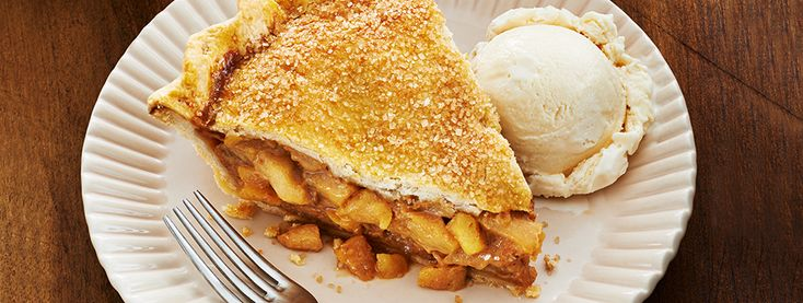 Salted Caramel Apple Pie - This mouth-watering combination of tart apples, sweet caramel and a hint of sea salt turns our Perfect Flaky Pie Crust into an apple pie you and your guests won t want to miss.