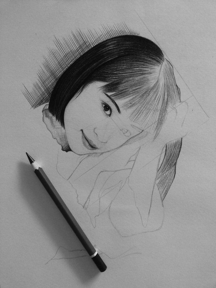 It's begin from sketch.