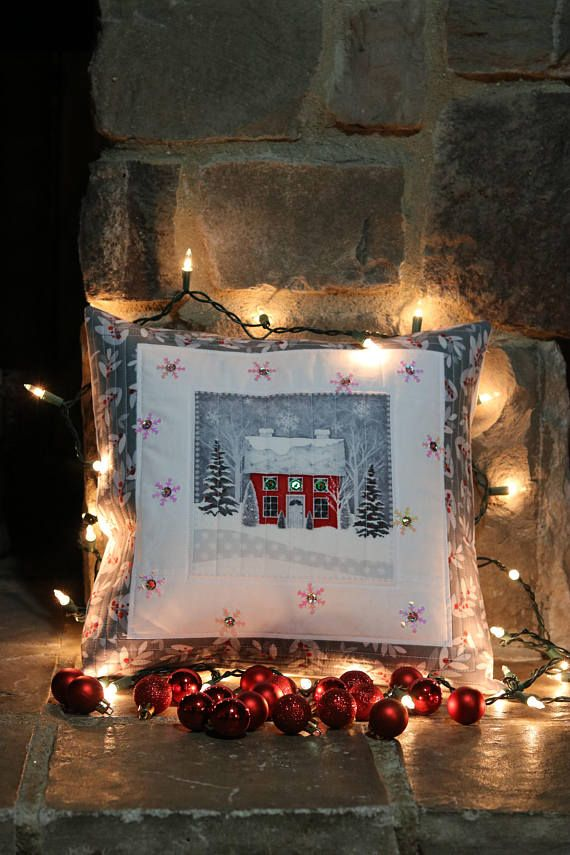 Christmas Pillow Cover Pillow Cover Sequin Pillow Cover