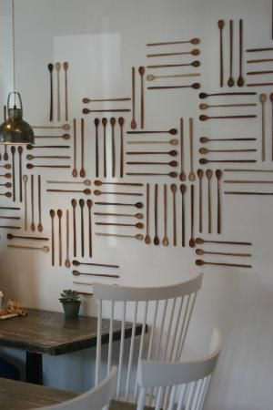 Persephone Bakery: Interior Decor   Great For A Back Wall Or Back Drop  Designu2026