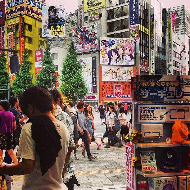 Chuo-dori Avenue, Akihabara, Tokyo.
