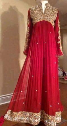 Pakistani Wedding Dress. Pakistani Style. Pakistani Dress ♡ ♥ ♡ Follow me here MrZeshan Sadiq