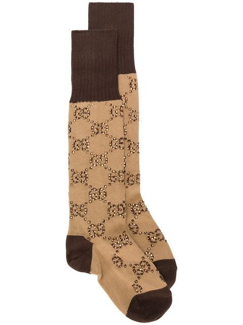 1f7874c0dd9aa Gucci GG pattern socks $1,340 - Buy SS19 Online - Fast Global Delivery,  Price