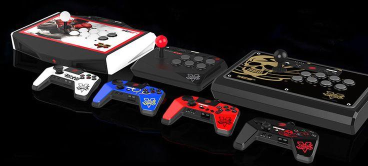 Nouveaux contrôleurs sous licence Street Fighter V - Prévue pour coïncider avec la sortie du jeu sur le système de divertissement PlayStation 4, la toute nouvelle gamme Street Fighter V inclut des contrôleurs FightSticks, FightSticks Tournament ...