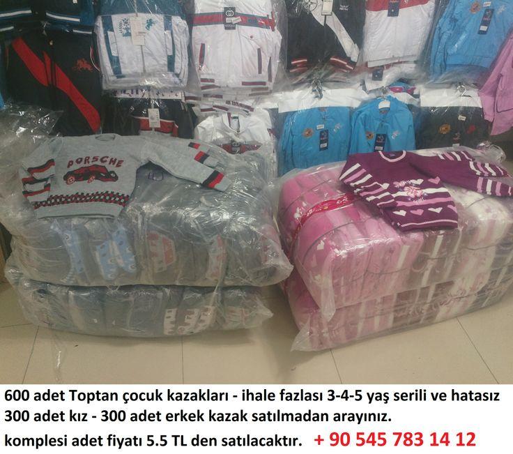parti malı ucuz çocuk kazak toptan çocuk kazakları, en uygun fiyata, 3-4-5 yaş - 600 adet kız erkek karışık - 300 adet kız 300 adet erkek çocuk kazak toptan satılık, adet fiyatı 5.5 TL parti malı ucuz çocuk kazak toptan çocuk kazakları. en ucuz çocuk kazak modelleri.
