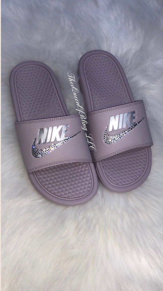 save off 16c96 fa987 Nike Benassi Slides   Etsy