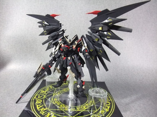 Gundam Wing Bardiche custom, customized build by blandon