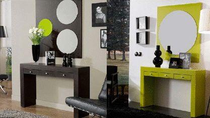 Dos recibidores modernos para habitar espacios pequeños y dotarlos de personalidad