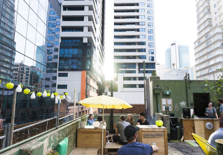 The Hills Rooftop Bar - grungy, laid-back and off most people's radars. 1 Flanigan Lane