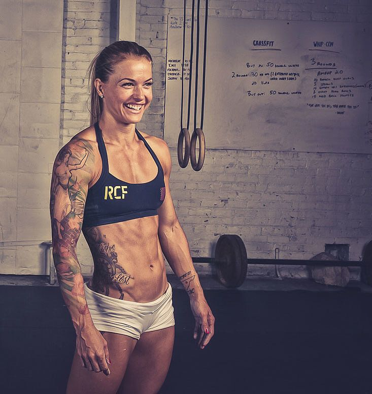 Christmas Abbott, CrossFit competitor and author of The Badass Body Diet, explains exactly what to do to get rid of belly cellulite.