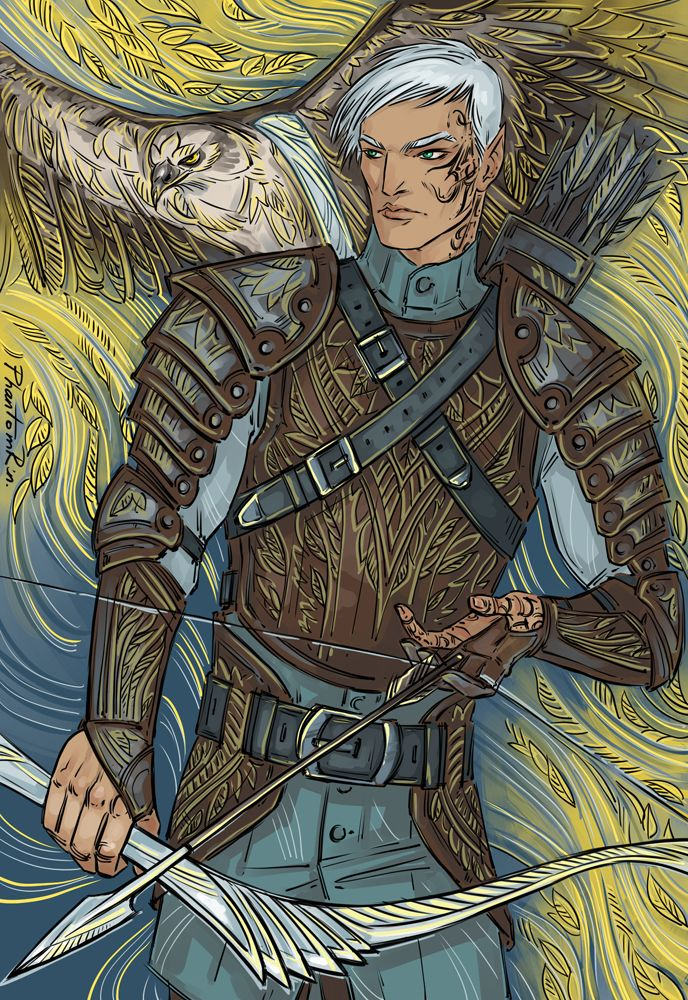"Rowan (""Throne of Glass"" by @sjmaas) by Phantomrin"