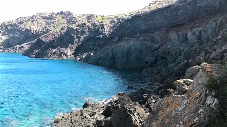 Cala dei cinque denti: pantelleria