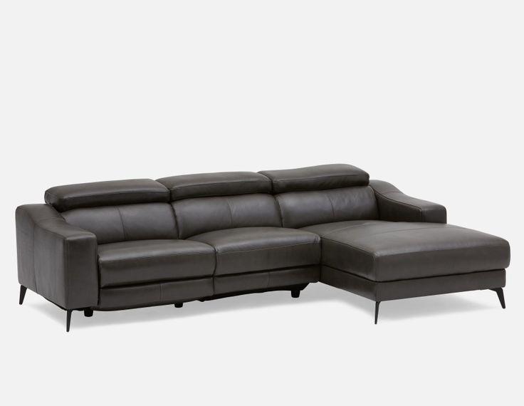 les 25 meilleures id es de la cat gorie canap gris fonc. Black Bedroom Furniture Sets. Home Design Ideas