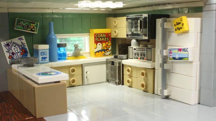 Kitchen 2 Lego Furniture Lego House Lego Architecture