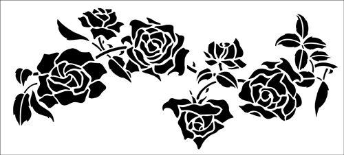 Best 25+ Rose Stencil Ideas On Pinterest