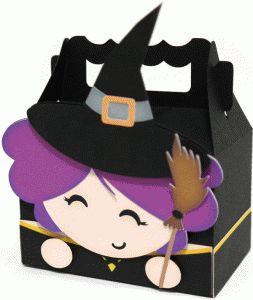 cute witch box by Nilmara Quintela