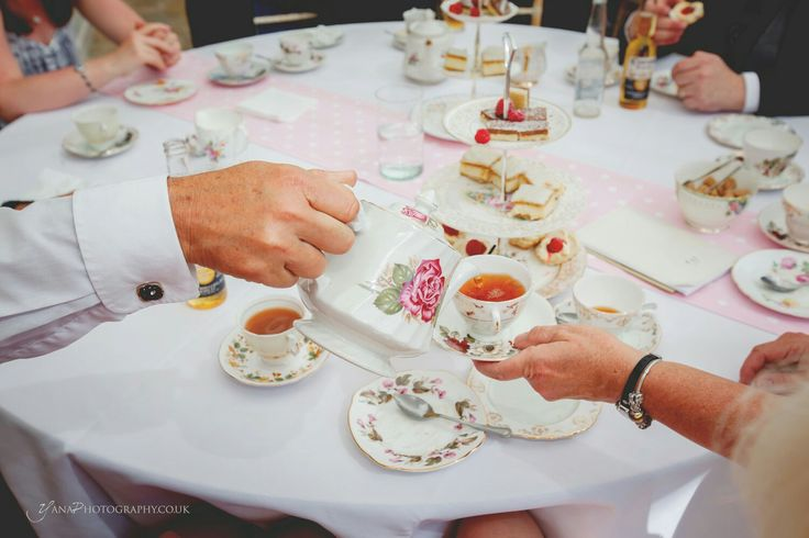 Move away from the tradition...Tea anyone?