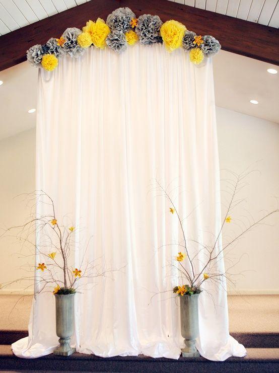décoration pour cérémonie laique