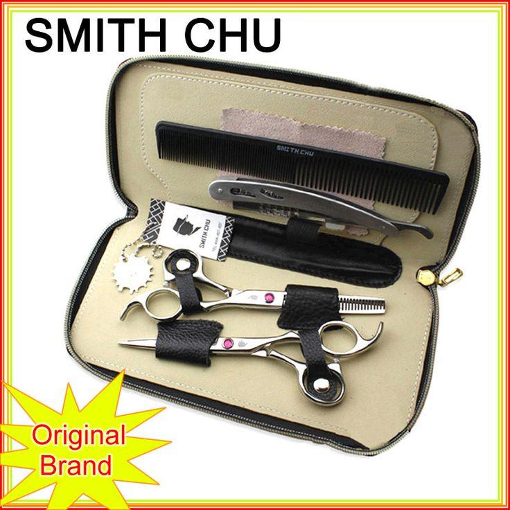 Смит чу волос ножницы профессиональный парикмахерские ножницы высокое качество резки истончение ножницы ножницы парикмахерские парикмахерская бритвы