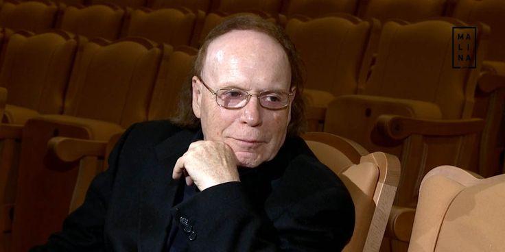 Историк, писатель и драматург Эдвард Радзинский принимает поздравления с юбилеем