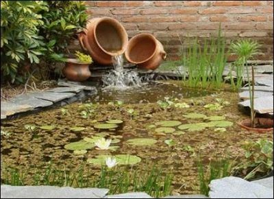 M s de 1000 ideas sobre peque os estanques en pinterest for Arreglar jardin abandonado