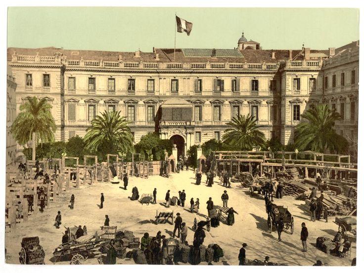 Le Palais de la Préfecture, Nice, France (Riviera)