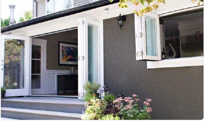The 25 Best Bifold Exterior Doors Ideas On Pinterest Bifold Glass Doors Bi Fold Doors And