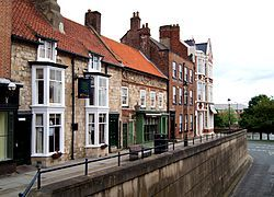 Stockton-on-Tees, England.  Where I was born...at home...in a little row house with a glass door (which I eventually shattered as I ran through it - hence the scar on my forehead).